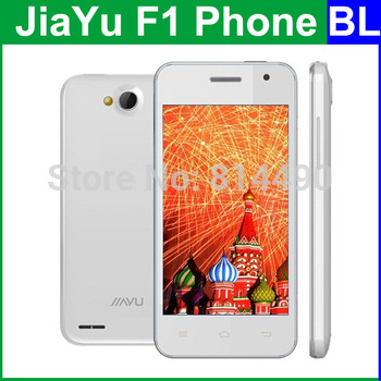 Freeshipping WCDMA 3G In Stock Original Jiayu F1 F1W 4 Inch 800x480 MTK6572 Dual Core Android Mobile Cell Phone Multi language
