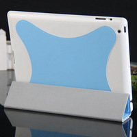 Polyurethane Intelligent ultra-thin Sleep  Spider Protective Case For ipad 2  3