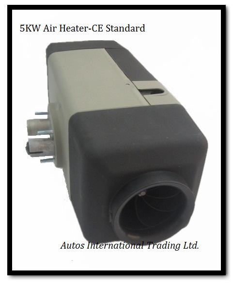 Отопление и Вентиляторы в авто Autos group 5KW 24V Webasto