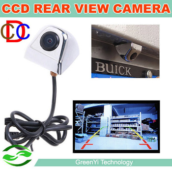 Free Shipping, Good Quality Auto Night Vision Reverse Backup Camera Car CCD Rear View Camera For Car DVD Monitor Parking System