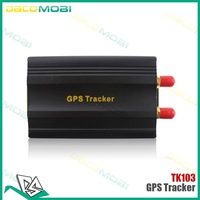 DHL Free Shipping  30pcs/lot Vehicle Car GPS Tracker TK103A GSM Alarm SD Card Slot Anti-theft Real-time Security Tracking