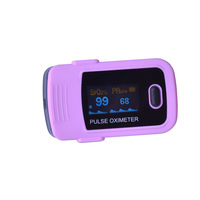 Free shipping CE FDA SH-C1 Finger Pulse Oximeter Blood Oxygen SpO2 Saturation PR Oximetro OLED Health care Monitor with case