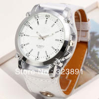 2014 new fashion hot selling big dial leather men women wristwatches stylish classic ladies retro wrist dress quartz watch