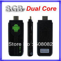 UG007 Android 4.2.2 Stick Mini PC Dual Core TV box RK3066 Cortex A9 1GB RAM + 8GB ROM + 3D WiFi Bluetooth tv dongle