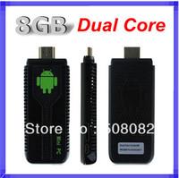 UG007 Android 4.2.2 Stick Mini PC Dual Core TV box RK3066 Cortex A9 1GB RAM + 8GB ROM + 3D WiFi Bluetooth tv dongle