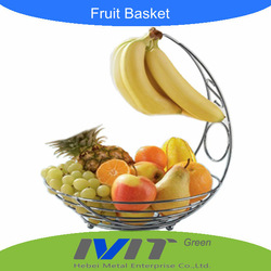HOT seller Wholesale Fruit basket food basket ,banana hanger ,fruit holder(China (Mainland))
