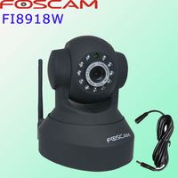 foscam FI8918W IP Camera Wireless CCTV  security Webcam Black Limited free DDNS and 3m extension cable  2-year warranty
