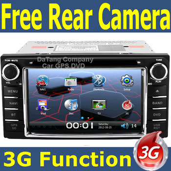 3G USB host Witson Car GPS DVD Player Head Unit for Toyota Corolla 2003 - 2006 with Radio TV Tape Recorder Russian menu