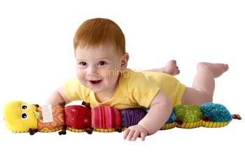 Soft Lovely Musical Inchworm Developmental Baby Plush Toy 4912