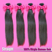 6A Virgin Hair free shipping,European Virgin Hair Straight Human hair Weave 3pcs lot Nautral color Virgin European Hair