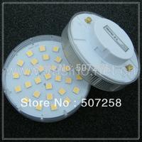 NEW! 2pcs/lot wholesale free shipping GX53 LED light, cabinet lamp, 30 pieces 5050SMD, Epistar LED chips, 220v, 6 watt (201300).
