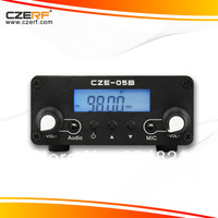 Free Shipping CZH-05B 0.5w Black Color  Audio Amplifier Home FM Transmitter 76~108MHz Adjustable