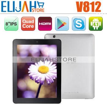 "Original 8"" IPS Onda V812 Tablet PC Boxchip A31 ARM Cortex A7 Quad Core 2GB RAM 16GB Flash  Dual Camera Wifi HDMI"