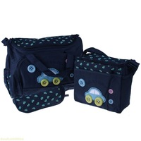 (Buy 1 gets 3) One Set wholesale Mother Bags Baby Diaper Stroller Bags for Mom high quality free shipping baby Bags mummy bag