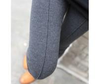 Warm Cashmere Women's Fashion Leggings Solid Color Middle Line Deisgn Leg Slim Lady's Trousers Casual Daily Female Legging 2013