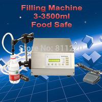 Electrical digital liquids filling machinery,automatic water filler,milk food,beverage bottling,perfume bottling packer tools