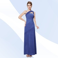 HE09675 2013 New Arrival Hot Selling Ruffles Flowers Spaghetti Straps Chiffon Evening Dresses