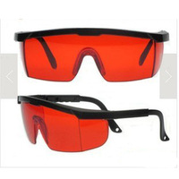 Wholesale NEW -532nm Anti Laser Safety Glasses Eye Protection Red Lens,free shiping 20PCS/LOT