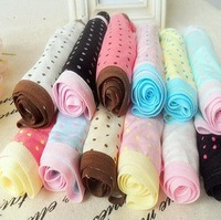 free shipping cute dot briefs women's girl's underwear/4 pcs/lot /Bamboo Fiber lovely bot underwear briefs 10 colors/WTY