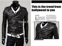mens motorcycle jackets genuine Men's Leather Jacket With Long Coat  clothing jaqueta masculina de casacos de Jaquetas couro men