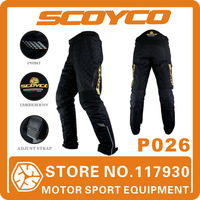2015 Scoyco P026 Motorcycle Pant men Sport Removeable Inner Warm Winter Waterproof Protective Trousers Accessories Free Shipping