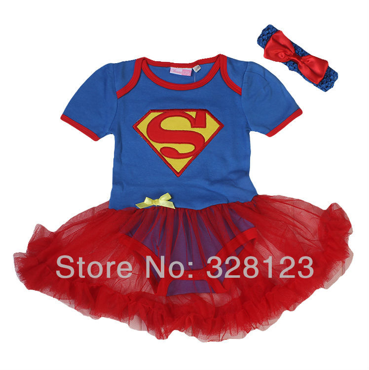 Free Shipping Baby Girls Romper Set Toddler Infant 3 pcs Summer Clothes Tutu skirts+Bodysuit+Headband For 3 6 9 12 18 Month(China (Mainland))