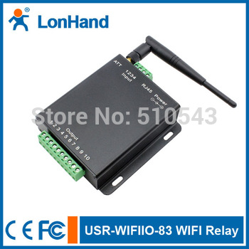 Ethernet Interface WIFI Relay/Ethernet relay  device with 5 Channel - free android/app/IOS/PC software