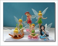 High Quality Peter Pan Tinker Bell Dolls  Action Toys Figures  WA0045