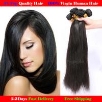 Peruvian virgin hair straight 3pcs lot 100 human hair Weave Beautiful  hair products beauty hair Free Shipping