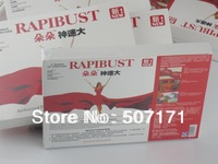 5 sets=20PCS RAPIBUST Breast Chest Big Enhancer Augmentation Erect Health Bust UP Breast Enlarger Tapes Beauty Free Shipping
