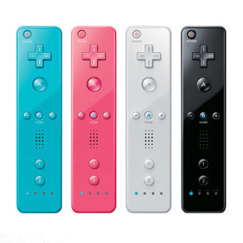 1PC Wireless Remote Controller For Nintendo Wii 100% Compatible Wholesale Free Shipping Six Colors