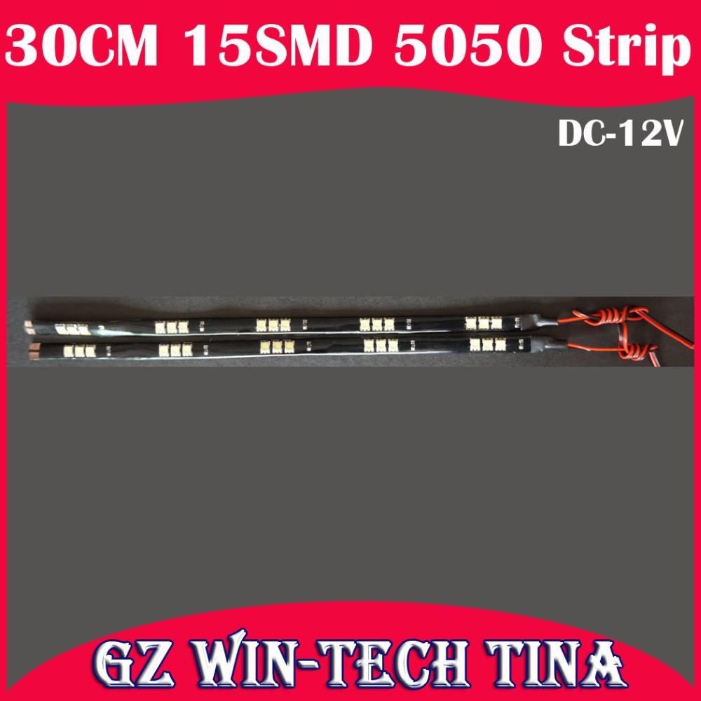 Светодиодная лента TINA 100pcs/lot 30 15 5050 12v SMD TC-C041  светодиодная лента 10 50 50 12v 30 smd 5050 v