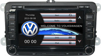 Two Din 7 Inch Car DVD Player For VW Volkswagen SAGITAR JATTA GOLF V POLO BORA With 3G Host GPS BT IPOD TV Radio RDS Free Maps