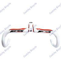 Free Shipping Full Carbon Fibre Bicycle handlebar,Integrated NE-SS Road bicycle handlebar,Utralight handle bar