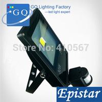 Epistar chip 10W  20W 30W 50W led flood light sensor  DC12V led outdoor lamp light PIR Motion sensor Induction Sense