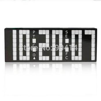 Large Digital Big LED Alarm Calendar Countdown Clock  Remote Control Temperature Decoration Table Cock