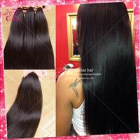 Ali POP hair Brazilian virgin hair straight Hot selling Brazilian virign hair human hair weave straight  dyeable and bleachable