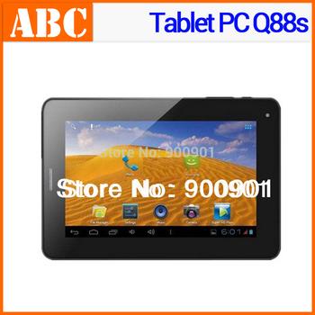 "Cheap price Phone call Tablet PC Q88s 7.0"" allwinner a13 4GB Capacitive gsm 2G sim card slot+bluetooth+wifi+G-sensor+dual camera"