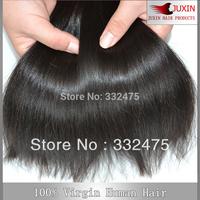 "8""-34"" 3pcs Virgin Brazilian  human hair extensions Remy straight hair weave hair DHL FREE SHIPPING"