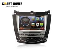 "8"" Car Audio Video Headunit For ACCORD 7 2003 2004 2005 2006 2007 Dual Zone Climate DVD GPS Navi Radio RDS Bluetooth iPod"