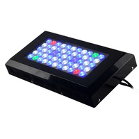 Free Shipping 120w LED Aquarium Light With Color 2Red+2Green+2UV+21White+28Blue