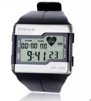 Xonix heart rate monitor watch mens sports watches multifunctional watch fashion waterproof 100m swimming watch