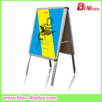 factory direct sales Free shipping for A2 Outdoor  double side  Poster A frame sign board    BLMHS502