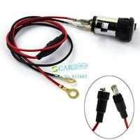 New arrival Useful Motorcycle Car Boat Tractor 12V Cigarette Lighter Power Socket Plug Outlet C11634