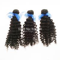 malaysian virgin hair curly 3pcs lot Free Shipping 100 Human hair weave fangfang hair products remy hair  Extension
