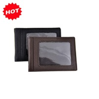 2014 Promotion Offer! Men Fashion Genuine Cow Leather  Bank Credit Card & ID Holders Wallet Bag,Gifts,JG3039A