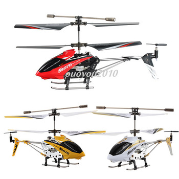 Free Shipping Wholesale Syma S107 S107G 3CH w/Gyro Infrared Sensor Metal Series Remote Control RC Helicopter New Toys Hot Gift