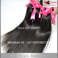 "DHL Free shipping 5 bundles/lot 100g/pc Peruvian straight Hair Extension human virgin hair Mix length 8""-34 """