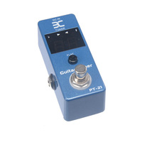 Eno EX Micro PT-21 Guitar Tuner Pedal Tuner Effect Compact Small Size For TC Electronics