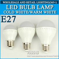 LED bulb lamp High brightness lights led light E27 5W 9W 15W 2835SMD Cold white/warm white AC220V 230V 240V Free shipping